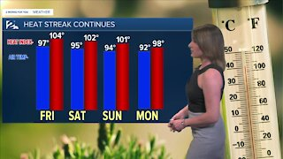 High Heat & Humidity with an Ozone Alert