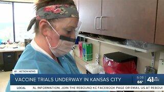 Vaccine trials underway in Kansas City