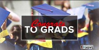 Congrats to Grads! Joshua