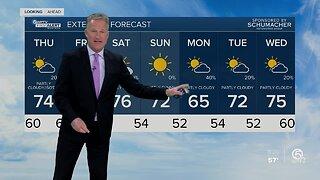 Steve Weagle's 11 p.m. First Alert Weather