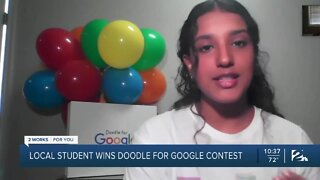 Local student wins Doodle for Google contest