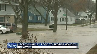 South Hawley road to reopen Monday