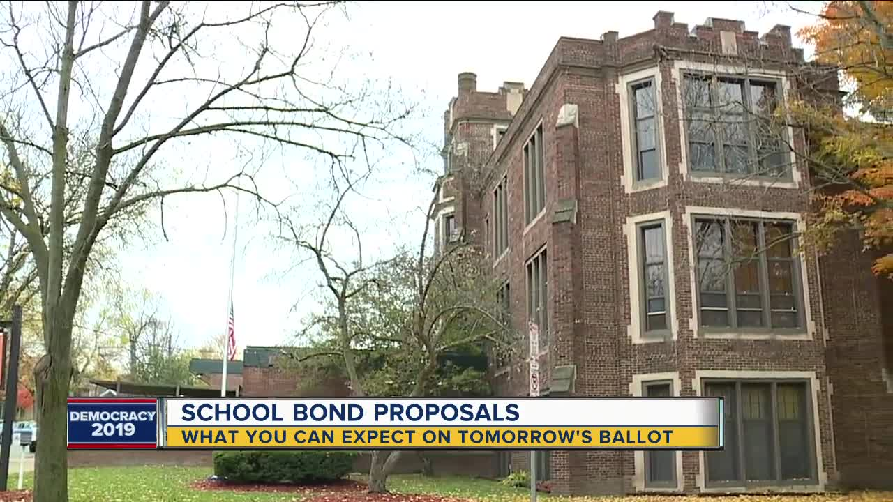 Schools in southeast Michigan asking voters for help through bonds on Election Day