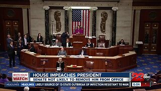 President Trump is impeached
