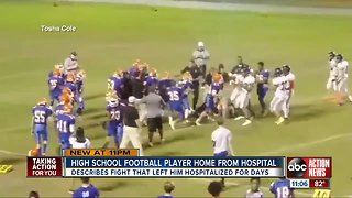 Bartow High School football player released from hospital 5 days after fight on football field