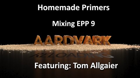Homemade Primers - Mixing EPP 9