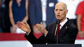 Rick Scott Thinks President Donald Trump Is Trying To 'Make Everybody Crazy'