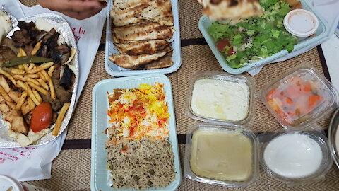 ลองอาหารอียิปต์ Egyptian Food in Ajman, UAE
