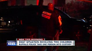 SWAT situation in North Buffalo ends peacefully