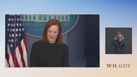 Psaki Refuses To Respond