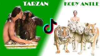 Kody Antle real life Tarzan Compilation / tiktok