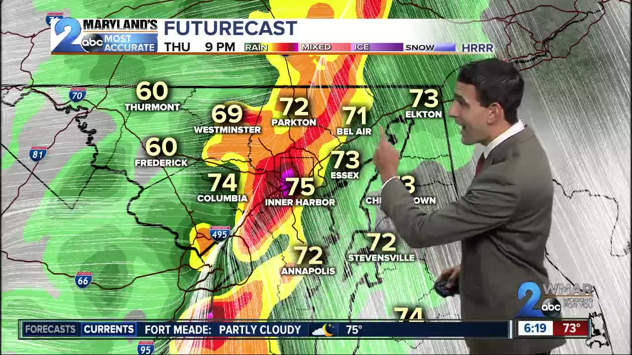 Severe Weather Moves In