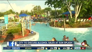 City of Cape Coral to discuss alcohol sales at Sun Splash water park
