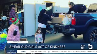 San Diego 8-year-old on a mission to help homeless