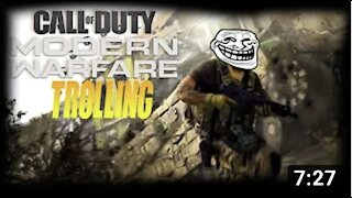 Modern Warfare Best Moments! (killing players with ATV'S)
