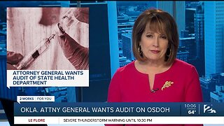 Attorney General wants audit of State Health Department