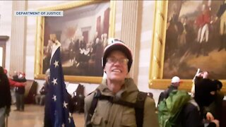Wisconsin man charged for entering U.S. Capitol during riots