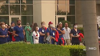Lee County officials show appreciation for healthcare workers in SWFL