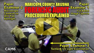 Arizona Audit Paper Ballot Forensic Examination