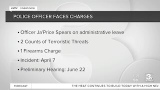 Omaha Police officer faces charges
