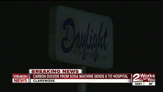 Two Claremore restaurants evacuated after carbon dioxide leak