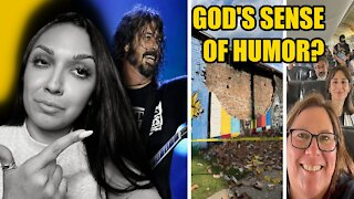 God's Sense of Humor?
