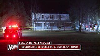 2-year-old dies, multiple injured in Middlefield fire