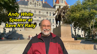 Andy White: Speaker at NY Rally/Are You Saved?