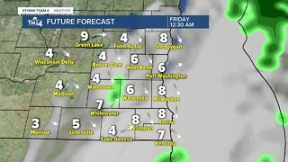 Storms move in Thursday afternoon