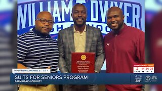 'Suits for Seniors' founder honored by Palm Beach County School District