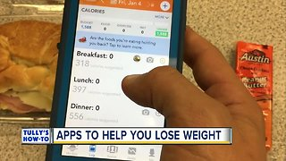 Lose weight with these helpful apps | Tully's How-To
