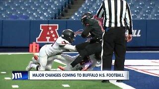 Major changes to Buffalo high school football