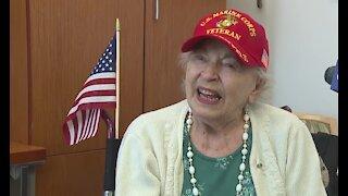 U.S. Marine veteran celebrates 99th birthday in Las Vegas