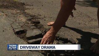 Driveway drama