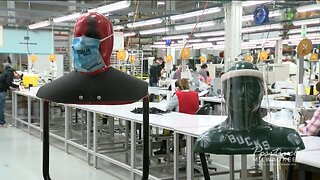 One Milwaukee business goes from making mascots to masks