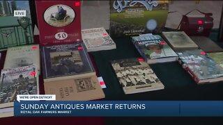 Sunday Antique Market Returns