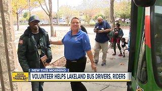 Lakeland celebrates volunteer with special needs