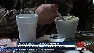 Local kids serve their community