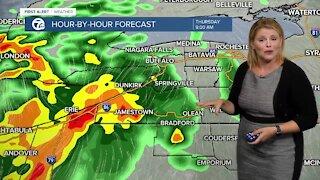 7 First Alert Forecast 11 p.m. Update, Wednesday, July 28