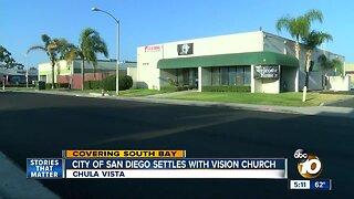 City of San Diego settles with Chula Vista Church