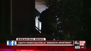 Death investigation underway at Hillsborough County apartment complex