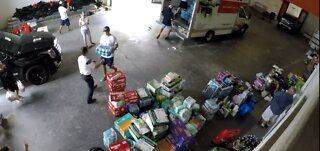 Group collect medical supplies for the Bahamas