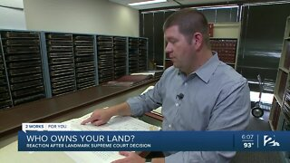 Who owns your land? Reaction after landmark Supreme Court decision
