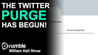 The Twitter PURGE Has Begun!