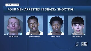 Four men arrested in deadly shooting