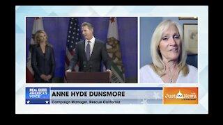 California Governor Gavin Newsom recalled