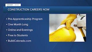 Construction workers needed: Free pre-apprenticeship program