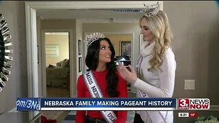 Nebraska family making pageant history