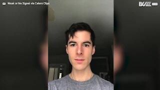 Jovem documenta 6 meses sem cortar a barba