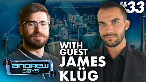 Covering Antifa and BLM with James Klüg | Andrew Says 33